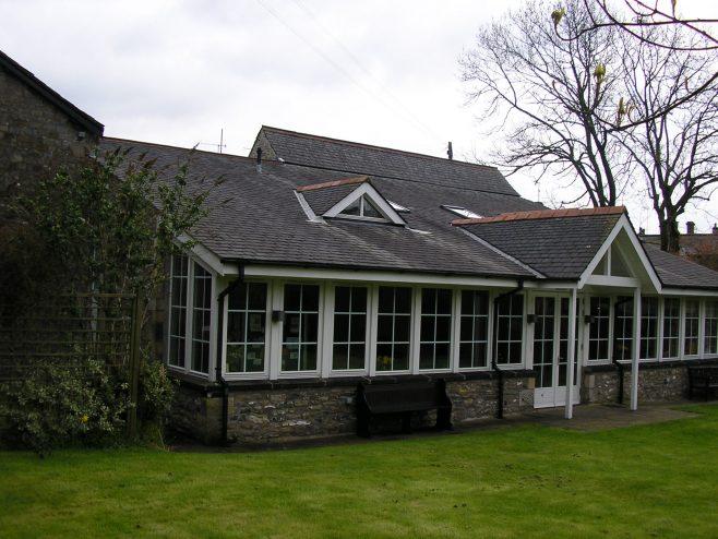 Kirby Lonsadale WM Chapel,, modern extensions, 13 April 2016 | G W Oxley