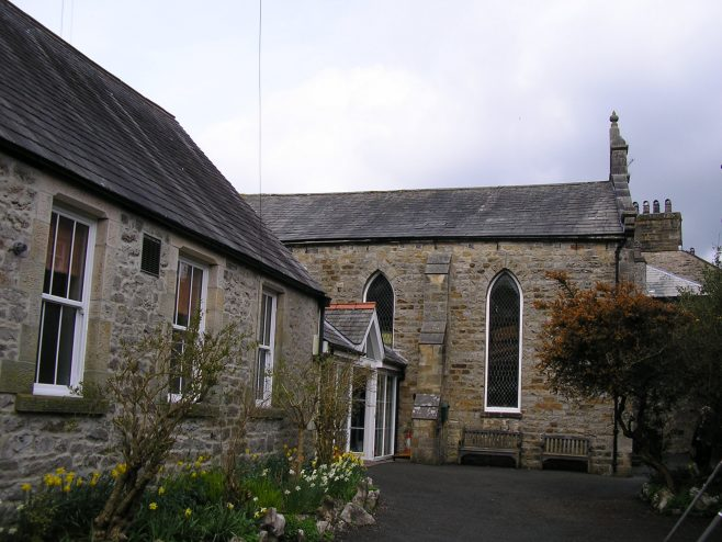 Kirby Lonsadale WM Chapel from south, 13 April 2016 | G W Oxley