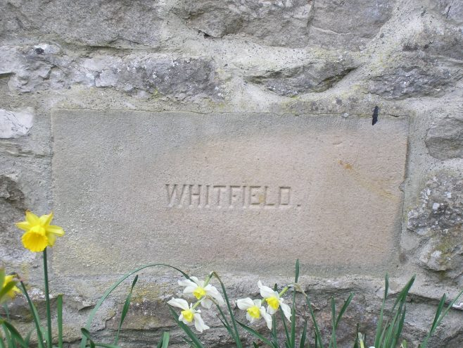 Kirby Lonsadale, WM Chapel),1893 extensions,foundation stone (ii), 13 April 2016 | G W Oxley