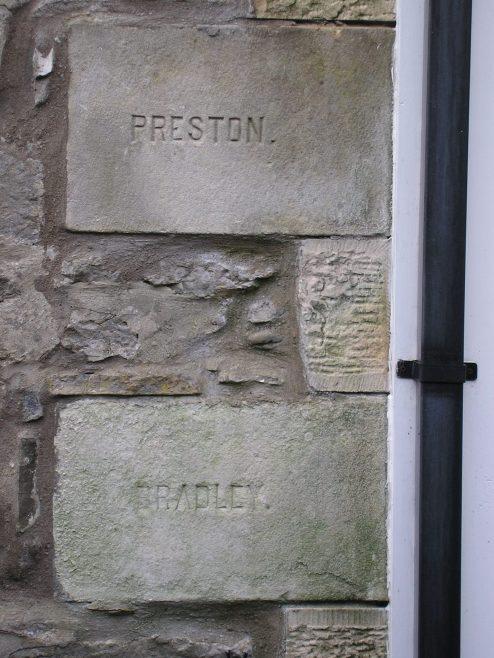 Kirby Lonsadale, WM Chapel, 1893 extensions,foundation stone (iv), 13 April 2016 | G W Oxley