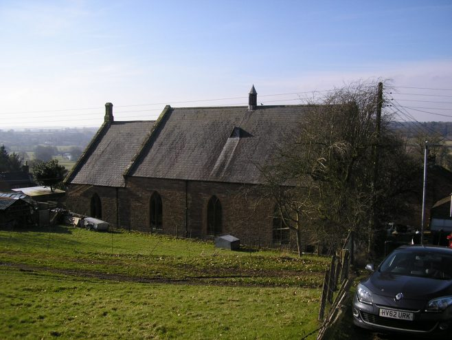 Kirkoswald Main Street  WM Chapel, general view from east, 24.02.2018 | G W Oxley