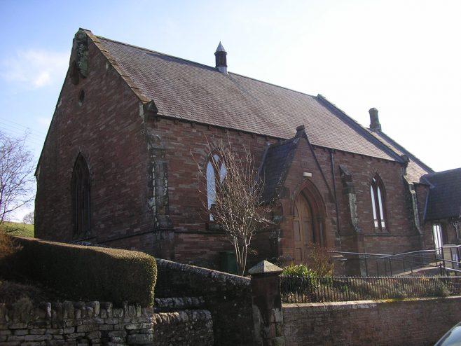 Kirkoswald Main Street  WM Chapel, general view from northwest, 24.02.2018 | G W Oxley