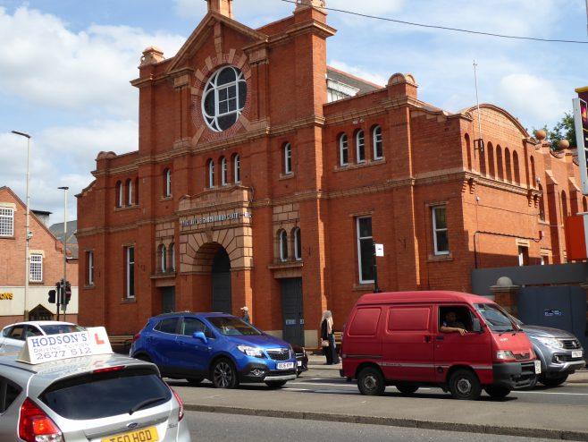 Leicester, Belgrave Wesleyan Hall, facade (i), 30.08.2018 | G W Oxley