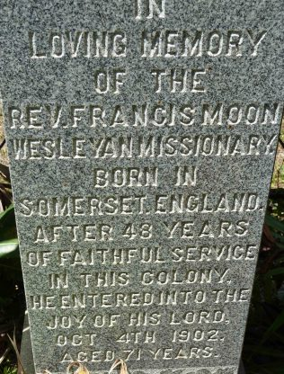 Reverend Francis Moon