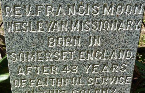 Reverend Francis Moon