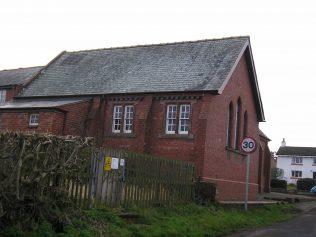 Monkhill WM Chapel, schoolroom , 23.1.2016 | G W Oxley