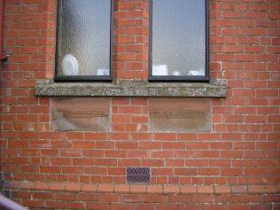 Monkhill WM Chapel foundation stones (i) 23.1.2016 | G W Oxley