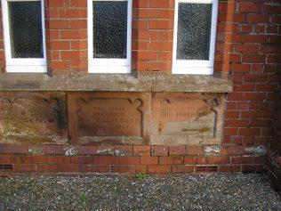 Monkhill WM Chapel foundation stones (ii) 23.1.2016 | G W Oxley