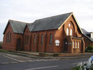 Monkhill WM Chapel from southwest 23.1.2016 | G W Oxley