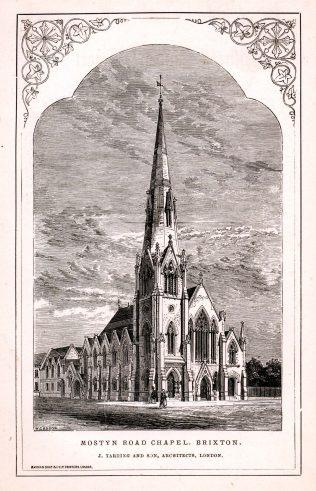 Mostyn Road Wesleyan Chapel, Brixton