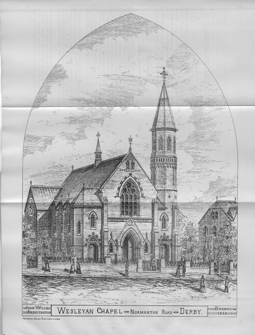 Derby, Rose Hill chapel, Normanton Road | Wesleyan Chapel Committee