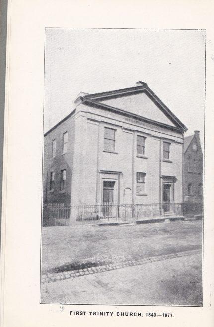 The first Trinity Church