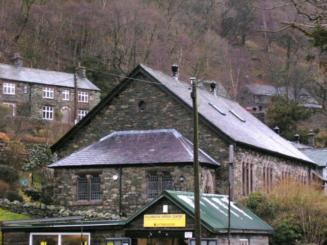 Patterdale WM Chapel from the south, March 20152 | G W Oxley
