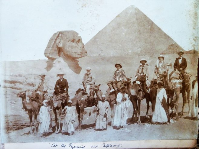 Group at Pyramids
