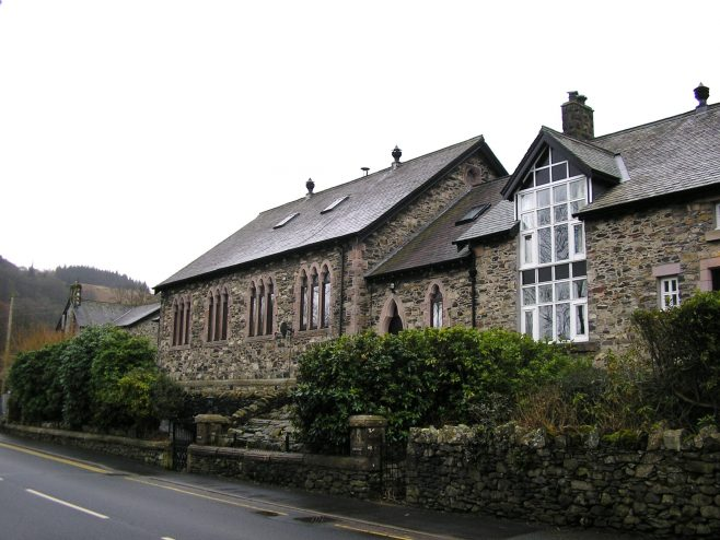 Patterdale WM Chapel and Sunday school (ii) from northeast, March 20152 | G W Oxley