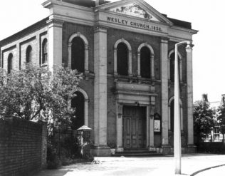 Pelsall Wesley Church | Image courtesy of Walsall Local History Centre archives and Pelsall Methodist Church