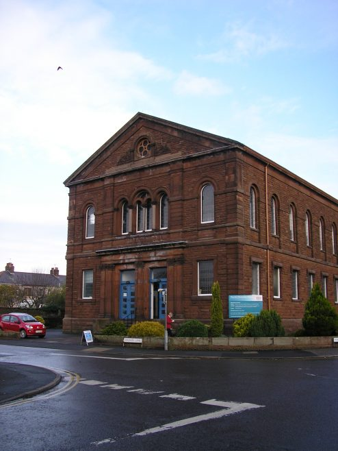 Penrith, Wordsworth St. WM Chapel, facade, 8.11.2014 | G W Oxley