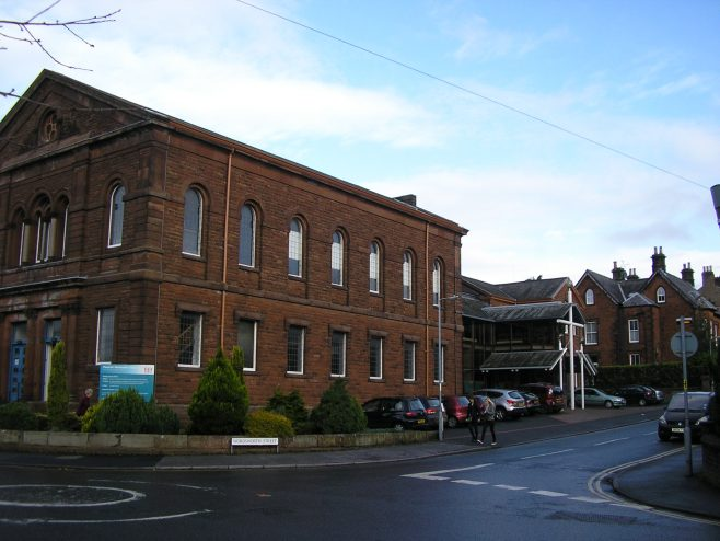 Penrith, Wordsworth St. WM Chapel, facade and south side, 8.11.2014 | G W Oxley