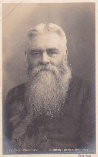 Rev Peter Thompson from the Methodist Postcard Album