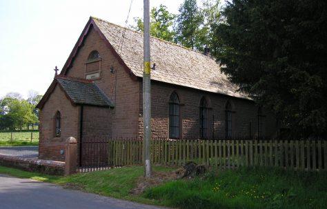 Plumpton, Back Street/Cottage Wood Centre WM Chapel , Cumbria
