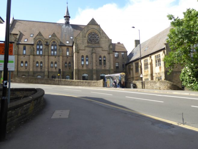 Sheffield Crookesmoor Road WM  Chapel, front and north side, 16.6.2018 | G W Oxley