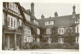 Sheepwell House Portico