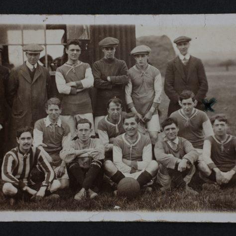 Wesleyan Football Team | click to enlarge