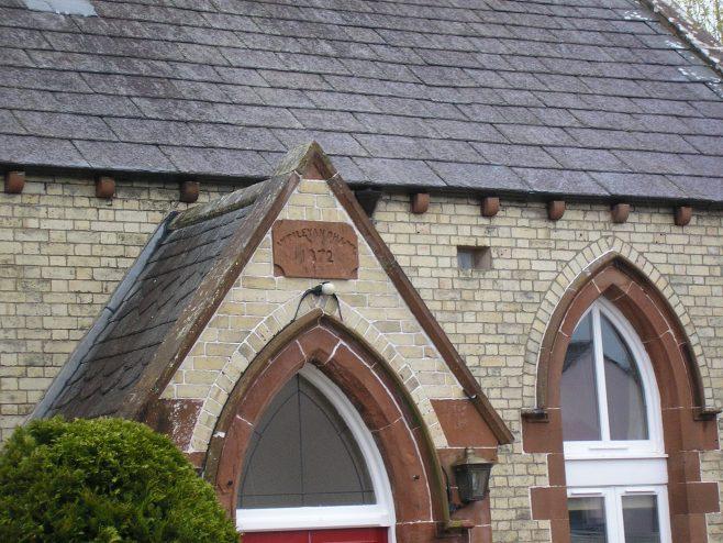 Temple Sowerby WM Chapel date plaque, 25.4.2015 | GW Oxley