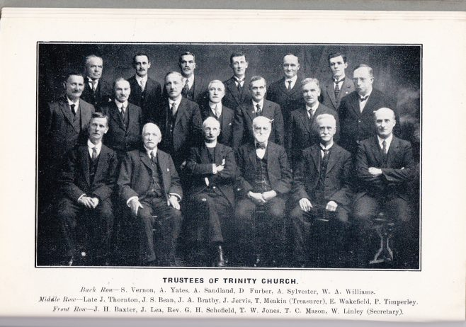 Trinity Church Trustees 1927