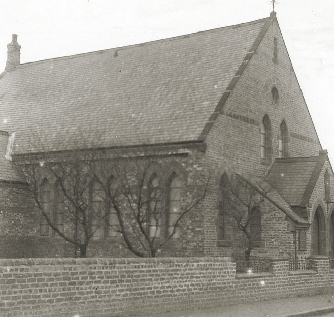 Village Lane, Washington, Wesleyan Church 1900 | Bede Circuit Archive Collections