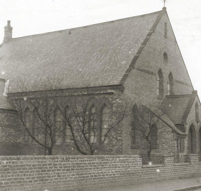 Village Lane, Washington, Wesleyan Church 1900 | Bede Circuit Archive Collections