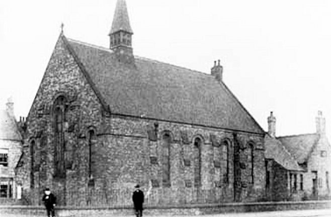 West Harton, South Shields, Wesleyan Chapel c1904 | Bede Circuit Archive Collections