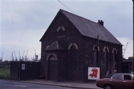 Wesleyan Methodist Chapel, Hedon Road, Marfleet, Hull, 1980 | GW Oxley Ref 5.08.80