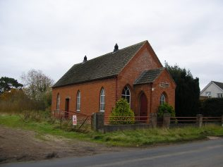 WM Chapel, Stoneraise, Cumbria, December 2013 | G W Oxley