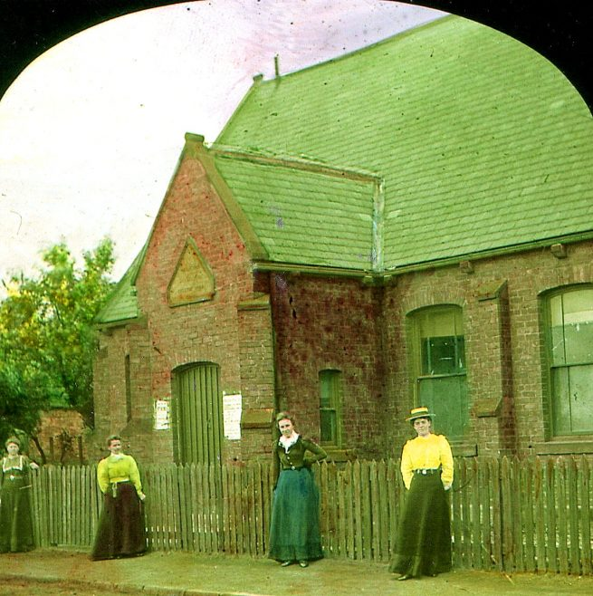 Washington Wesleyan Day School c1895 | Bede Circuit Archive Collections