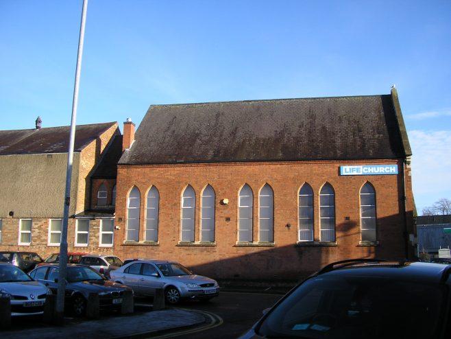 Wigston Mana WM Chapel,  south side,  18.12.2017   G W Oxley
