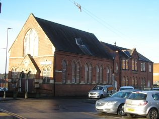 Wigston Mana WM Chapel, chapel and school, 18.12.2017 | G W Oxley