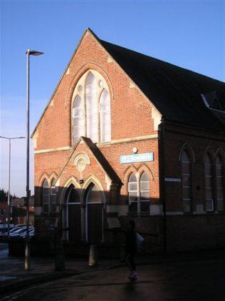 Wigston Mana WM Chapel, chapel facade, 18.12.2017 | G W Oxley
