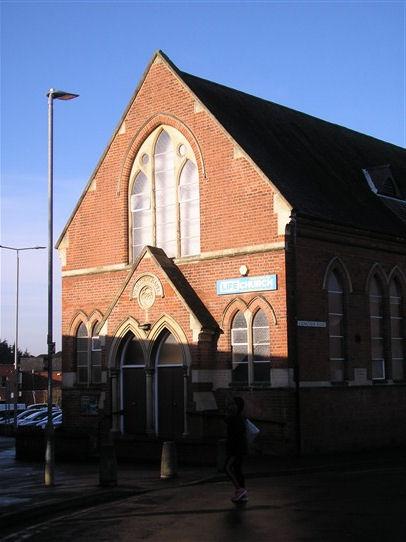 Wigston Mana WM Chapel, chapel facade, 18.12.2017   G W Oxley
