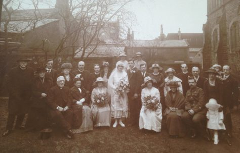 Chapel Allerton wedding, 1920