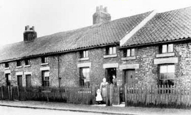 Quality Row Preaching Room opened c1840, West Harton South Shields [photo c1904] | Bede Circuit Archive Collections